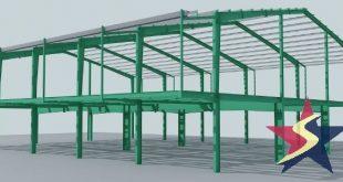 XÂY NHÀ KẾT CẤU THÉP TIỀN CHẾ,biện pháp thi công nhà kết cấu thép, Cơ khí Sao Việt, xây nhà kết cấu thép