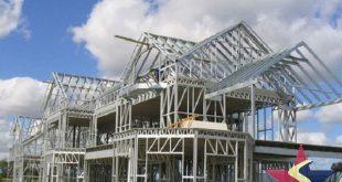 KẾT CẤU THÉP NHÀ DÂN, xây dựng nhà kết cấu thép, xây nhà kết cấu thép, Cơ khí Sao Việt