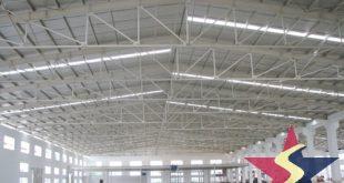 KẾT CẤU THÉP NHÀ NHỊP LỚN, Cơ khí Sao Việt, kết cấu thép nhà dân dụng và công nghiệp, xây nhà kết cấu thép,