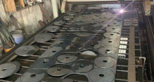 Cắt sắt tấm CNC tại Cơ Khí Sao Việt, Cắt CNC sắt tấm, Cắt sắt tấm CNC, Cắt CNC, Cắt sắt plasma CNC, Cắt plasma CNC thép tấm