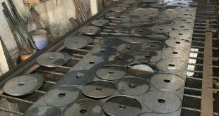 Giao sắt cắt CNC, Công ty Phúc Yên, Cơ Khí Sao Việt, Tôn tấm, sắt cắt CNC làm chân bàn, gia công sắt cắt CNC, sắt cắt CNC