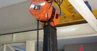 Pa lăng xích điện 3 tấn, Pa lăng xích điện, Dây xích thép, Điện áp điều khiển 48V, Palang xích điện dầm đơn, Palang xích điện dầm đôi