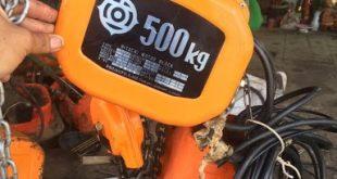 Pa lăng điện 500kg, Mua pa lăng điện 500kg, Pa lăng điện mini, Mua pa lăng điện 500kg tại Cơ khí Sao Việt, Cơ khí Sao Việt, pa lăng cáp điện