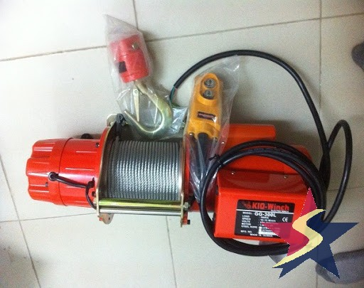 Tời điện 1 pha, Palang điện mini, Máy tời điện 1 pha, dòng tời điện 1 pha, Tời điện, Cấu tạo của tời điện 1 pha